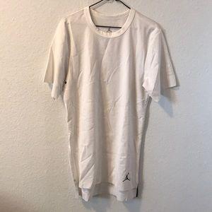 Men's Air Jordan White Short Sleeve Shirt